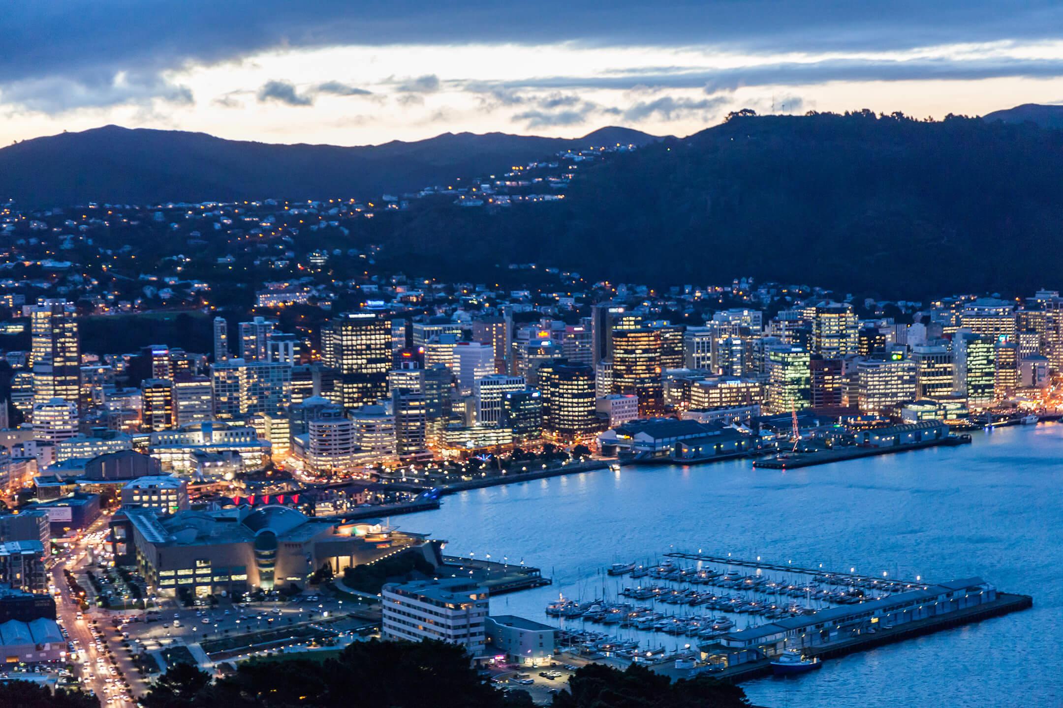 Wellington_City_at_dusk