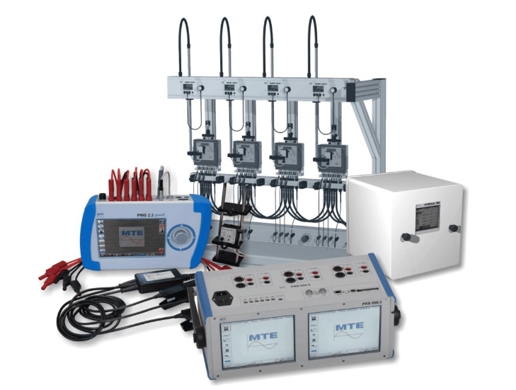 MTE Meter Test Equipment – Stationary and Portable Test Systems including Reference Standards, Power Sources, Test Racks and Fixtures, Scanning Heads and other accessories